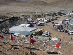esta es la mina San José en Chile en la que están atrapados 33 mineros