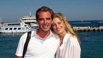 tatiana y nicolás de Grecia que contrajeron matrimonio el 25