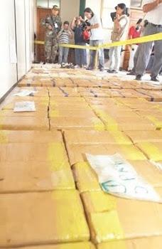 nuevos hallazgos de cocaína por las calles de Santa Cruz