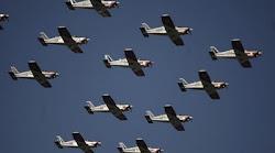 aviones chilenos en el aire aquel 18 de septiembre