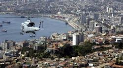 a la gran parada militar en Santiago sucedió la parada naval en Valparaíso