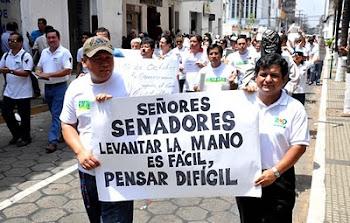 repasamos imágenes del indomable espíritu de los comunicadores bolivianos