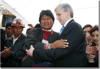 los dos hombres más empecinados en llevar al caos a una Nación que recibieron íntegra