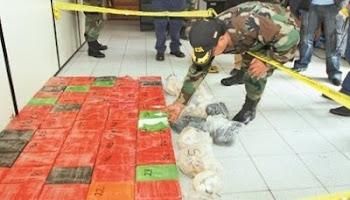 la cocaína invade los países limítrofes de Bolivia Brasil, Paraguay, Argentina y llega la reacción