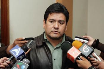 Mauricio Muñoz diputado de Convergencia ha denunciado a Evo Morales ante organismos de DDHH en EEUU