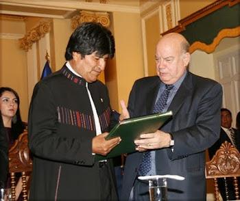 el último capítulo del sistema de JUSTICIA BASTARDA que vive Bolivia se da con la OEA