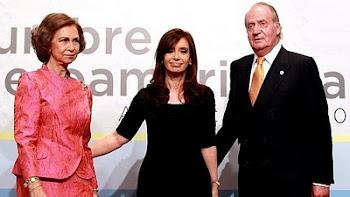 los reyes Juan Carlos y Sofía fieles a la tradición estuvieron en Mar del Plata