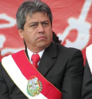 el dramático caso del Gobernador Mario Cossío a quién Evo trata de mostrarlo como corrupto