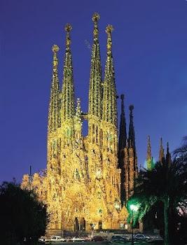 imponente catedral de la Sagrada Familia