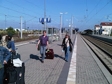 Schleppers on the platform at Bitterfeld