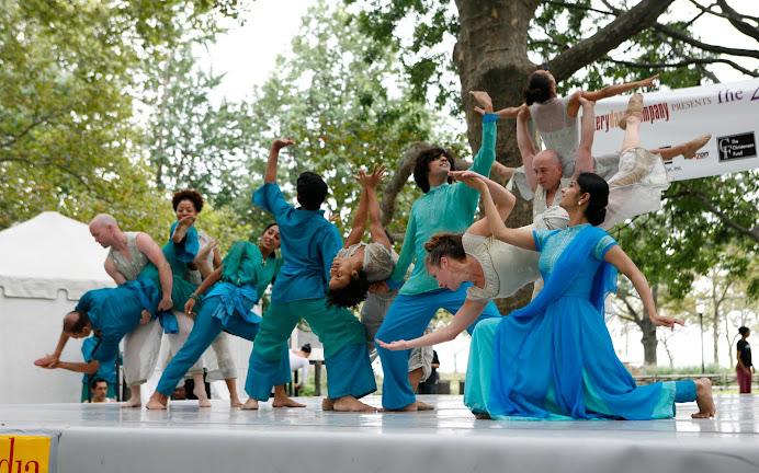 New York City - Downtown Dance Festival, August, 2006