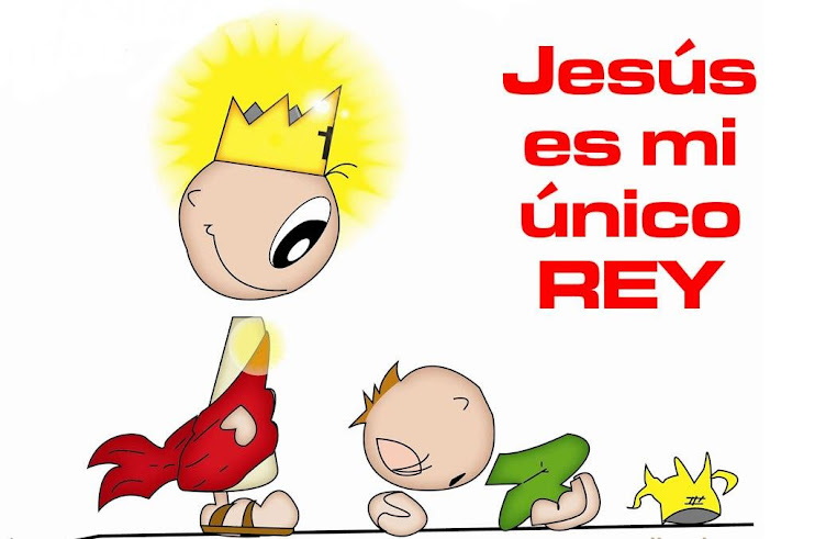 JESUS MI UNICO REY