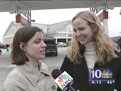 Mary and Jill on the news