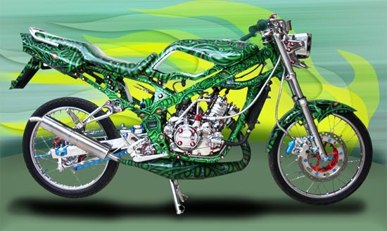motor+modif Modifikasi Motor Show And Motorcycle Contest