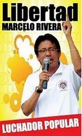 Liberdade para Marcelo Rivera