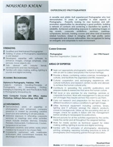 great resume examples 2010. hot great resume examples