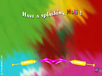 happy holi greetings wallpaper