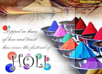 colorful holi wish wallpaper