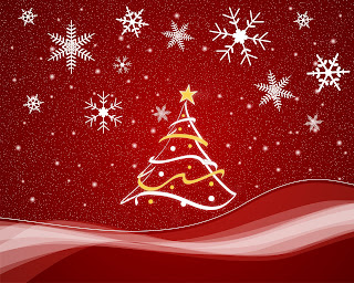 Christmas wallpaper scenes for the computer