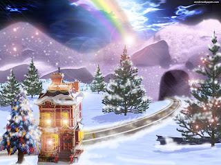 Digital Christmas tree Wallpapers