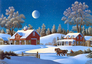 Christmas Scenes Free Saver Wallpaper