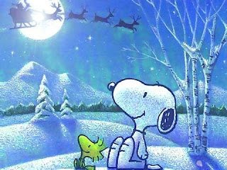 Snoopy Merry Christmas Wallpaper
