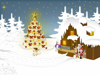 Beautiful Christmas Wallpaper Theme