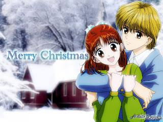 Anime Wallpapers on Christmas