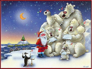 NorthPole Animated Christmas Wallpaper