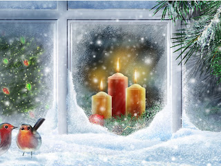 Animated Christmas Snow Wallpaper