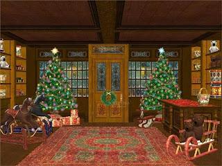 christmas animated free wallpaper