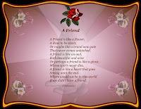 A Friend Poem Wallpaper