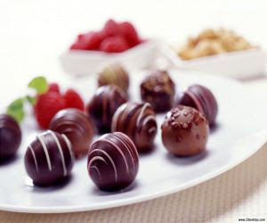 chocolates wallpaper for xmas