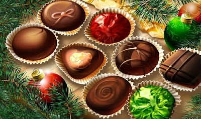Christmas Chocolate Wallpaper