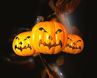 Scary Jack-o-Lantern Wallpaper