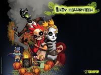 animated anime happy halloween