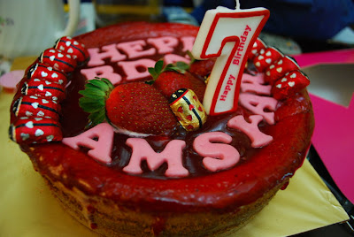 STRAWBERRY CHEESE CAKE..