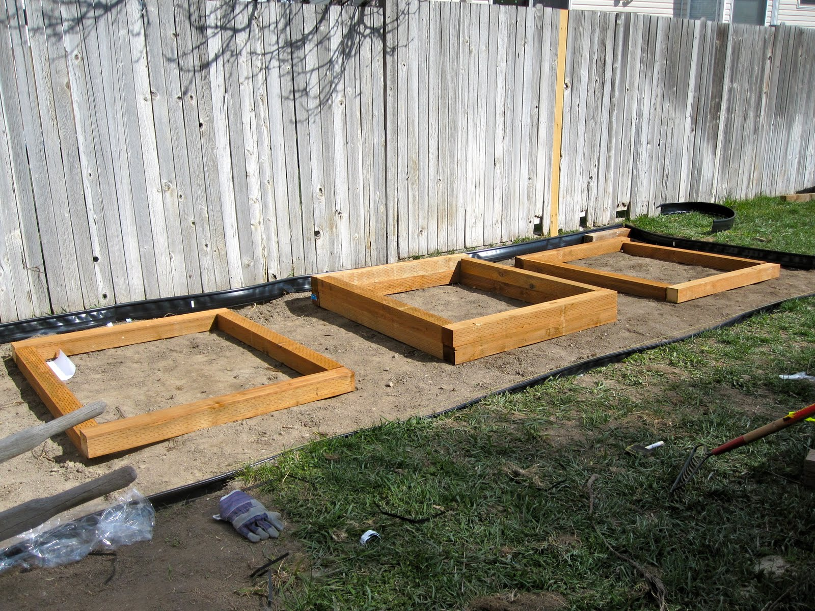 Backyard Garden Box Design furniture creative diy vertical fence mounted garden planter boxes using cedar wood for backyard garden house ideas wood garden box Garden Design With Bird And Berry Backyard Progress Looking Like A Garden With Plant