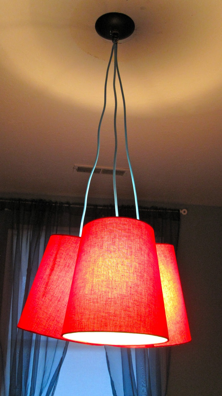 Bird And Berry Pottery Barn Kids Light Knock Off Lamp With Three Lights Wiring I Only Did But More Would Be Fun If You Are Willing To Deal The Difficulties That Cause