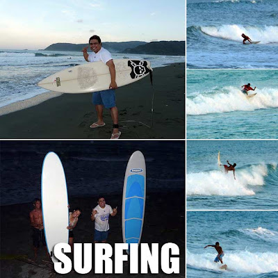 Surfing lessons in Baler