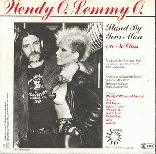 dos monstruos de la musica!! wendy y lemmy