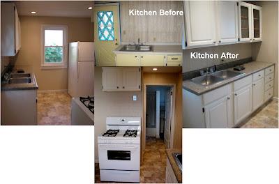 rental reno kitchen and bathroom newlywoodwards