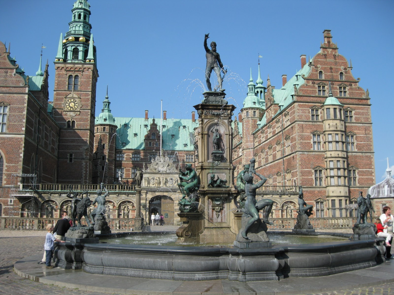 Denmark Kronborg on Old European Cottages