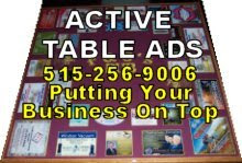 Active Table Ads