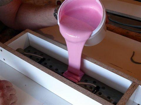 Mundo prototipo prototipos en moldes de silicona - Silicona de poliuretano ...