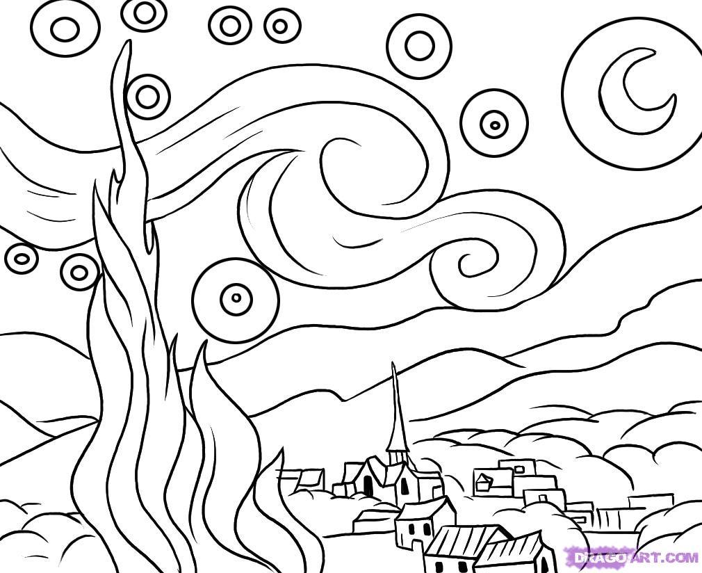 d arte mural coloring pages - photo #5