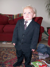 Jeremy in his suit