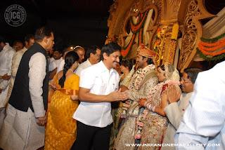 Indian Cinema Gallery Manchu Vishnu Vardhan Wedding Photos