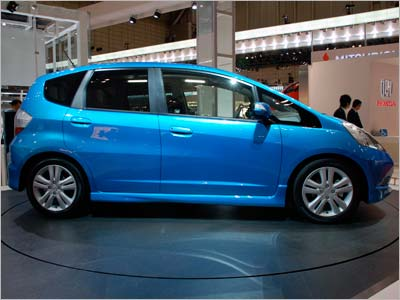 Honda Fit Studio Side