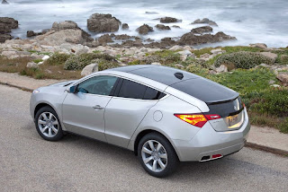 Acura official introduced ZDX - compeor BMW X6 and Porsche Cayenne on